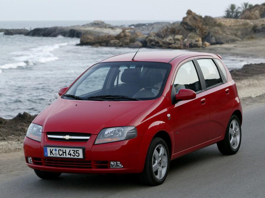 Chevrolet Kalos хетчбэк 5-дв., 2003–2008, 1 поколение - отзывы, фото и характеристики на Car.ru