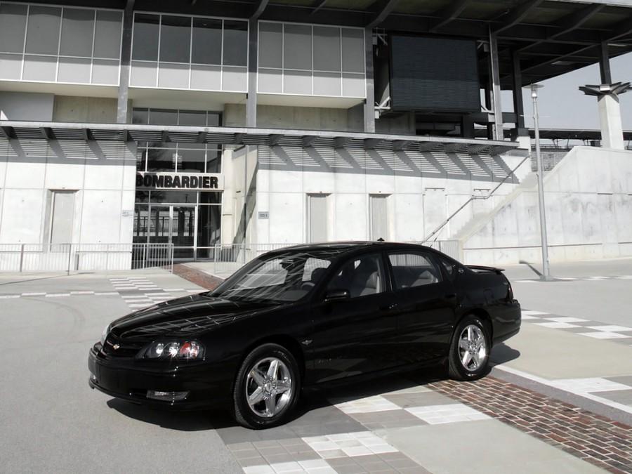 Chevrolet Impala SS седан 4-дв., 2000–2006, 8 поколение - отзывы, фото и характеристики на Car.ru