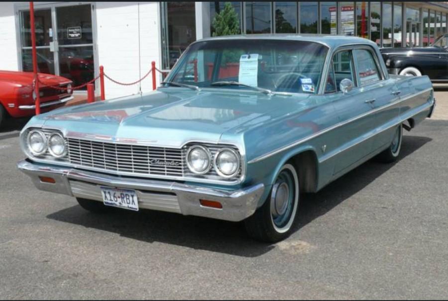Chevrolet Impala седан, 1964, 3 поколение [3-й рестайлинг] - отзывы, фото и характеристики на Car.ru