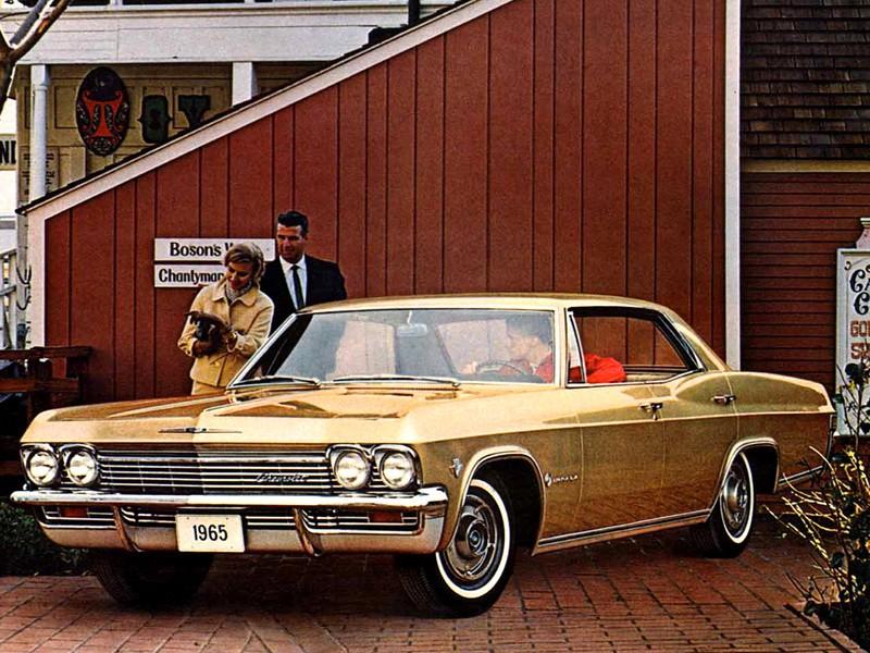 Chevrolet Impala хардтоп, 1965, 4 поколение - отзывы, фото и характеристики на Car.ru