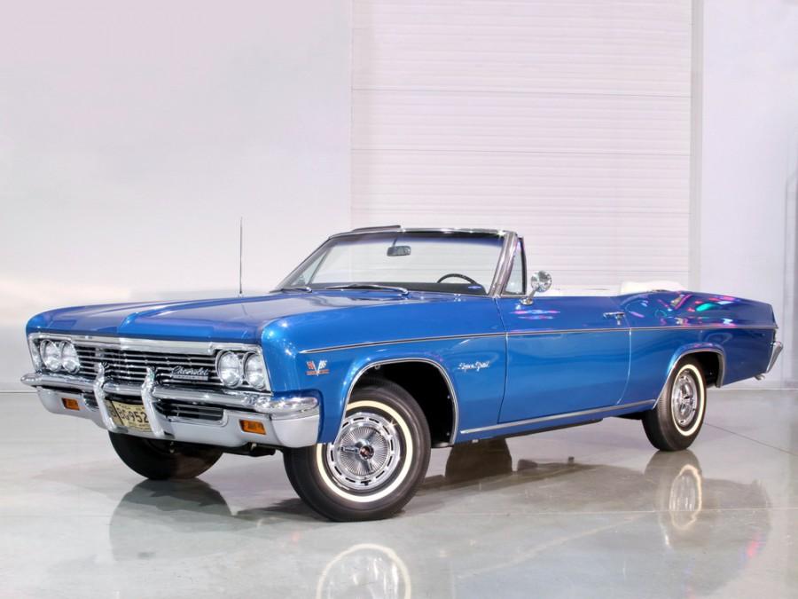 Chevrolet Impala кабриолет, 1966, 4 поколение [рестайлинг] - отзывы, фото и характеристики на Car.ru