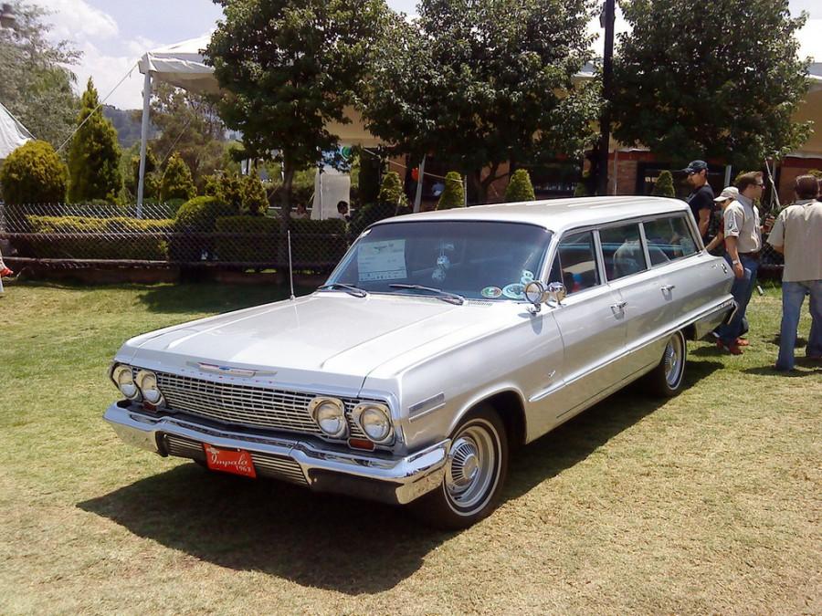 Chevrolet Impala универсал, 1963, 3 поколение [2-й рестайлинг] - отзывы, фото и характеристики на Car.ru