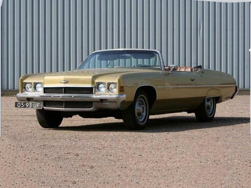 Chevrolet Impala кабриолет, 1972, 5 поколение [рестайлинг] - отзывы, фото и характеристики на Car.ru