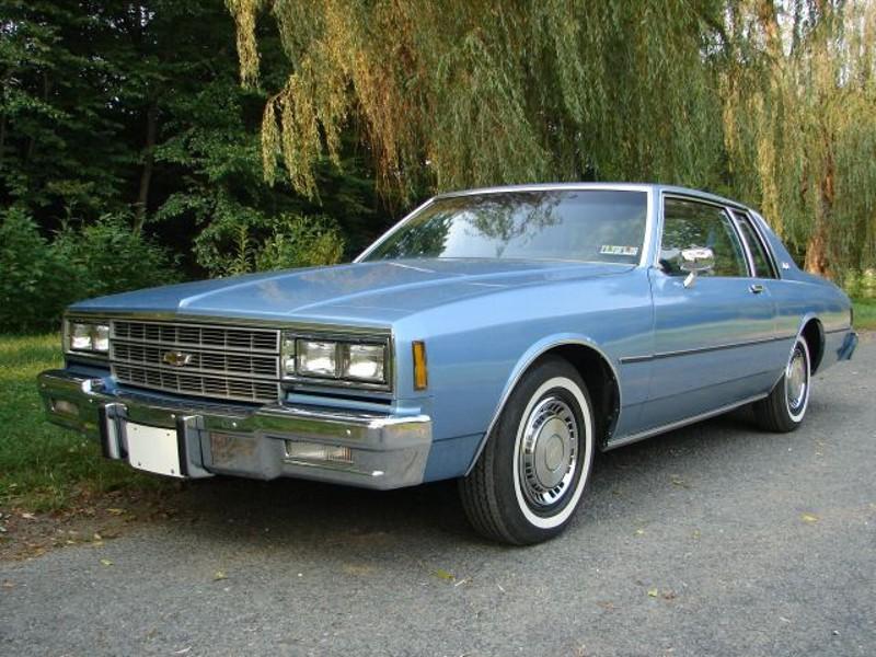 Chevrolet Impala купе, 1981–1985, 6 поколение [4-й рестайлинг] - отзывы, фото и характеристики на Car.ru