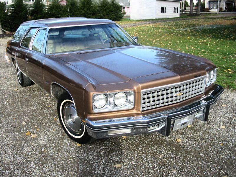 Chevrolet Impala универсал, 1976, 5 поколение [5-й рестайлинг] - отзывы, фото и характеристики на Car.ru