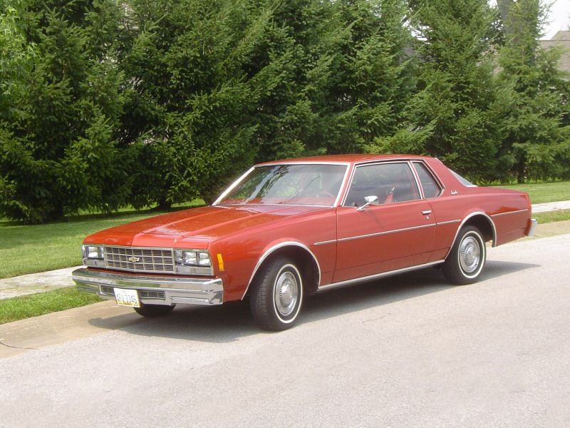 Chevrolet Impala купе, 1977, 6 поколение - отзывы, фото и характеристики на Car.ru