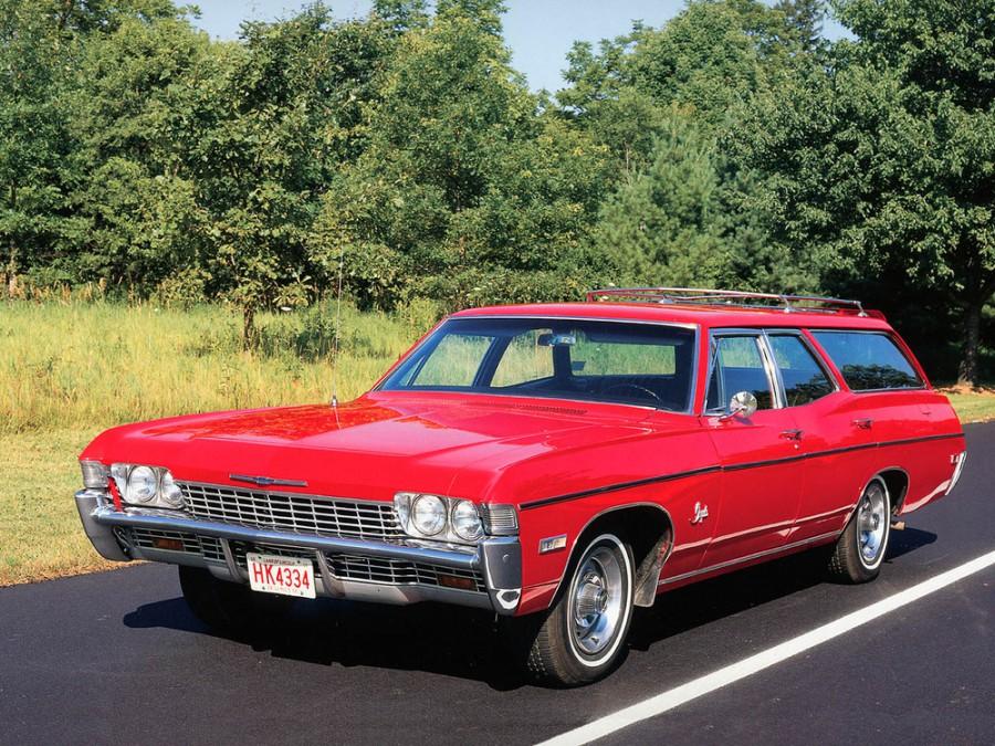 Chevrolet Impala универсал, 1968, 4 поколение [3-й рестайлинг] - отзывы, фото и характеристики на Car.ru
