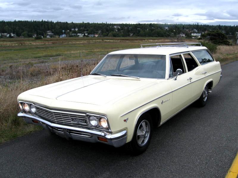 Chevrolet Impala универсал, 1966, 4 поколение [рестайлинг] - отзывы, фото и характеристики на Car.ru