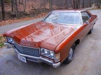 Chevrolet Impala, 1971, 5 поколение, Купе