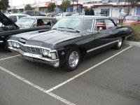 Chevrolet Impala, 4 поколение [2-й рестайлинг], Хардтоп, 1967