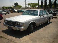 Chevrolet Impala, 6 поколение [4-й рестайлинг], Седан, 1981–1985