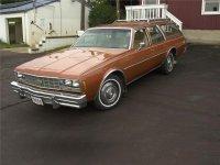 Chevrolet Impala, 1977, 6 поколение, Универсал