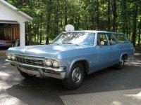 Chevrolet Impala, 1965, 4 поколение, Универсал