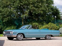 Chevrolet Impala, 3 поколение [2-й рестайлинг], Кабриолет, 1963