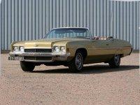 Chevrolet Impala, 1972, 5 поколение [рестайлинг], Кабриолет