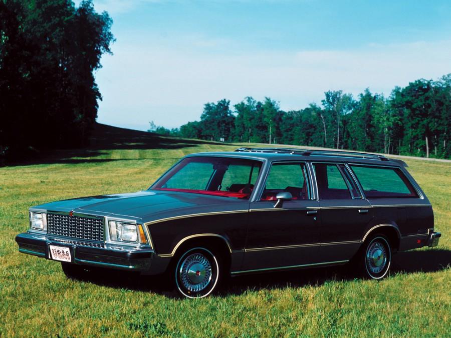 Chevrolet Malibu Estate Wagon универсал 5-дв., 1978, 1 поколение - отзывы, фото и характеристики на Car.ru