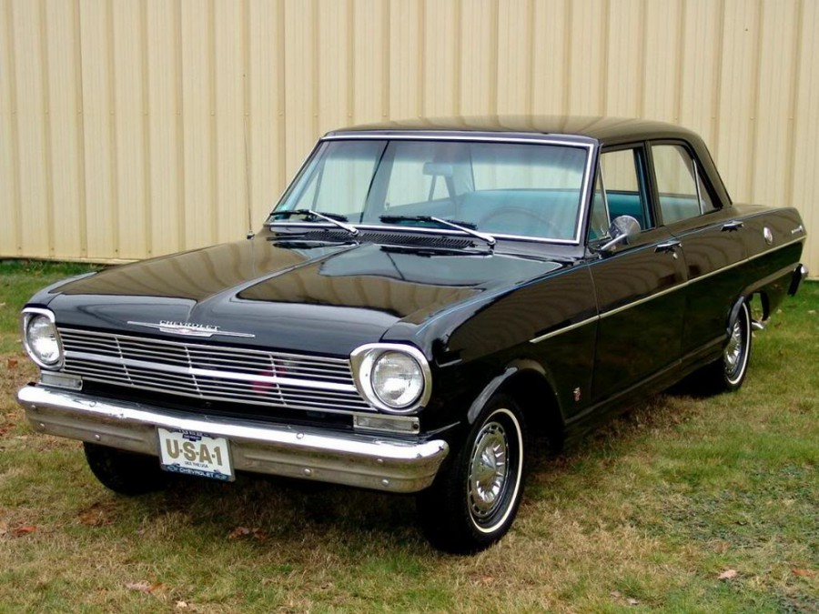 Chevrolet Nova седан, 1962, 1 поколение - отзывы, фото и характеристики на Car.ru
