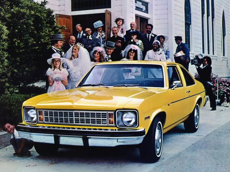 Chevrolet Nova купе 2-дв., 1976–1978, 4 поколение [рестайлинг] - отзывы, фото и характеристики на Car.ru