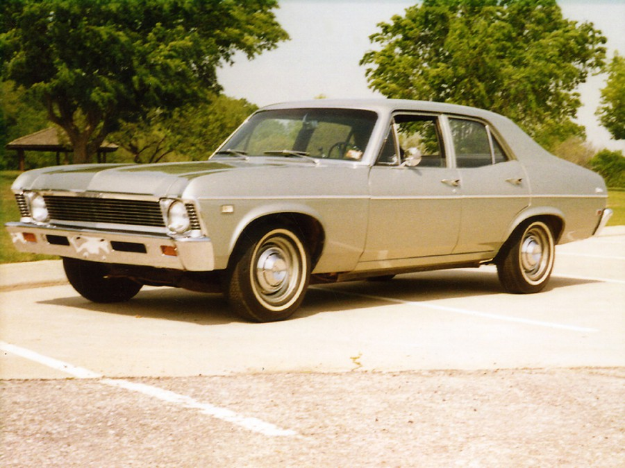 Chevrolet Nova седан, 1968, 3 поколение - отзывы, фото и характеристики на Car.ru
