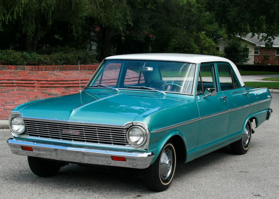 Chevrolet Nova седан, 1965, 1 поколение [3-й рестайлинг] - отзывы, фото и характеристики на Car.ru