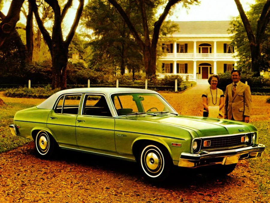 Chevrolet Nova седан, 1973–1974, 3 поколение [3-й рестайлинг] - отзывы, фото и характеристики на Car.ru