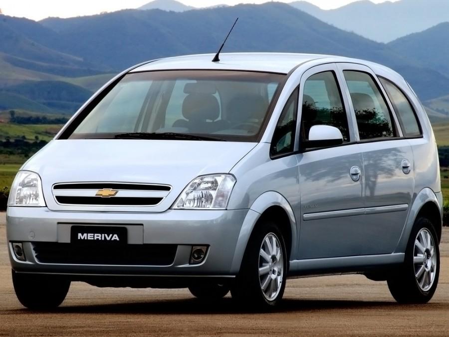Chevrolet Meriva минивэн, 2008–2012, 1 поколение [рестайлинг] - отзывы, фото и характеристики на Car.ru