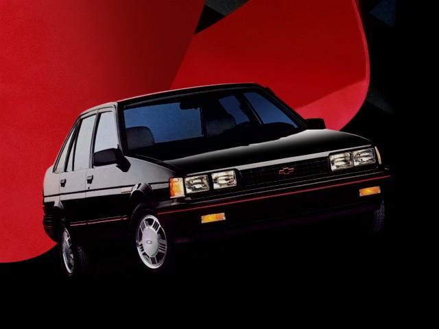 Chevrolet Nova седан, 1985–1988, 5 поколение - отзывы, фото и характеристики на Car.ru