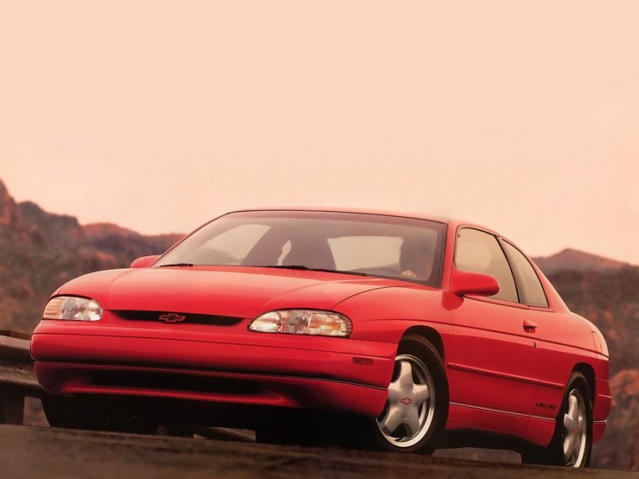 Chevrolet Monte Carlo купе, 1995–1999, 5 поколение - отзывы, фото и характеристики на Car.ru