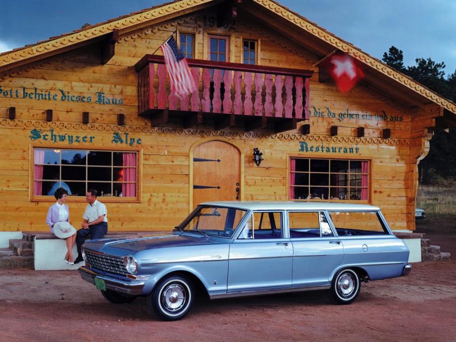 Chevrolet Nova универсал, 1964, 1 поколение [2-й рестайлинг] - отзывы, фото и характеристики на Car.ru