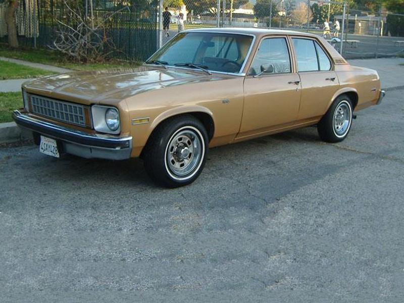Chevrolet Nova седан 4-дв., 1976–1978, 4 поколение [рестайлинг] - отзывы, фото и характеристики на Car.ru