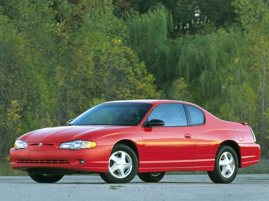 Chevrolet Monte Carlo купе, 2000–2005, 6 поколение - отзывы, фото и характеристики на Car.ru