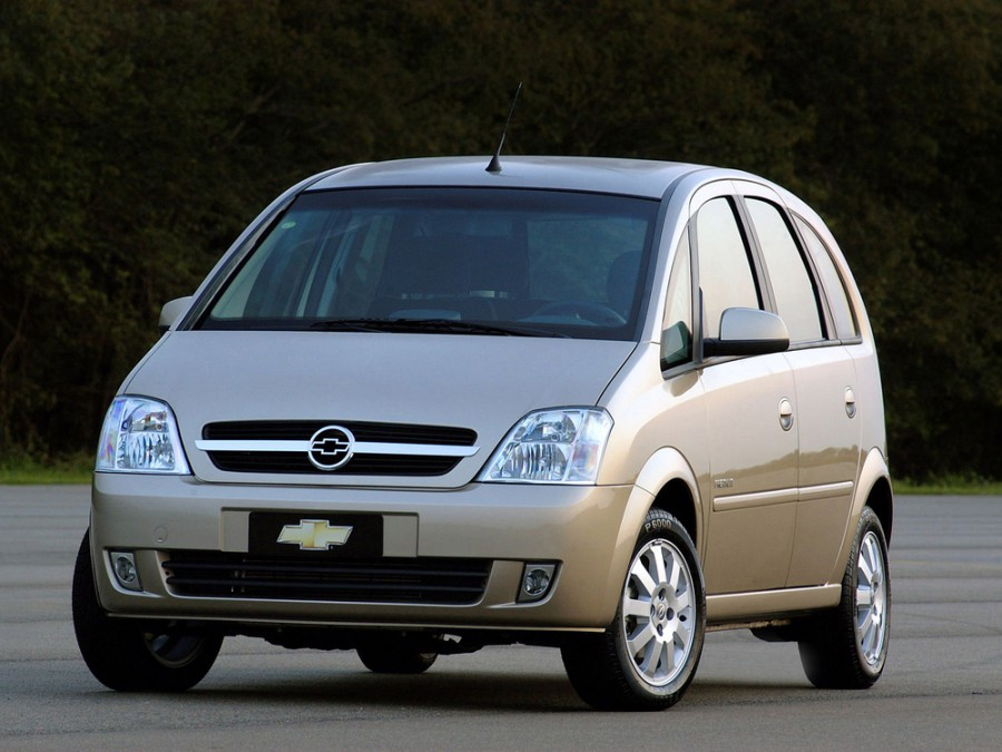 Chevrolet Meriva минивэн, 2002–2008, 1 поколение - отзывы, фото и характеристики на Car.ru