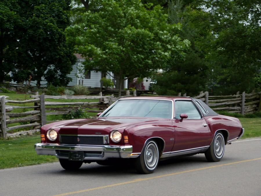 Chevrolet Monte Carlo купе, 1973, 2 поколение - отзывы, фото и характеристики на Car.ru
