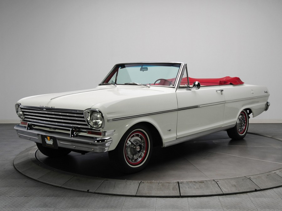 Chevrolet Nova кабриолет, 1963, 1 поколение [рестайлинг] - отзывы, фото и характеристики на Car.ru
