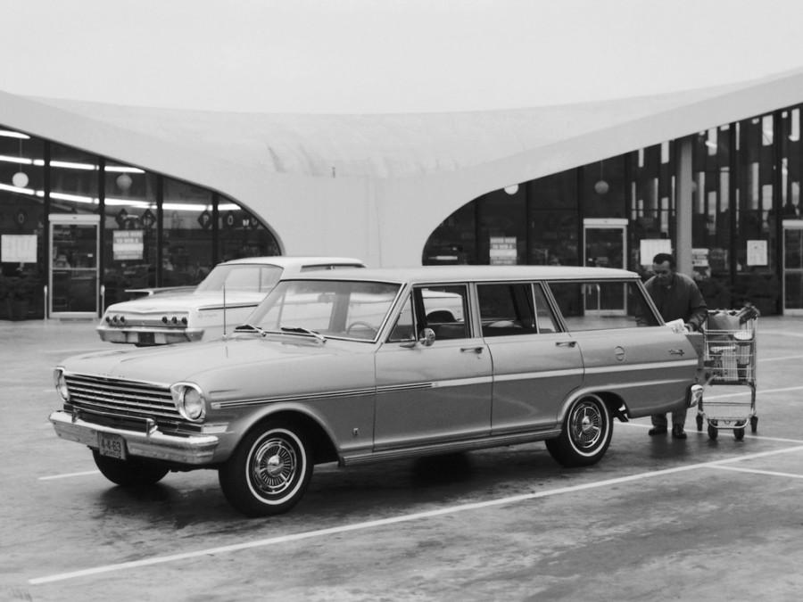 Chevrolet Nova универсал, 1963, 1 поколение [рестайлинг] - отзывы, фото и характеристики на Car.ru