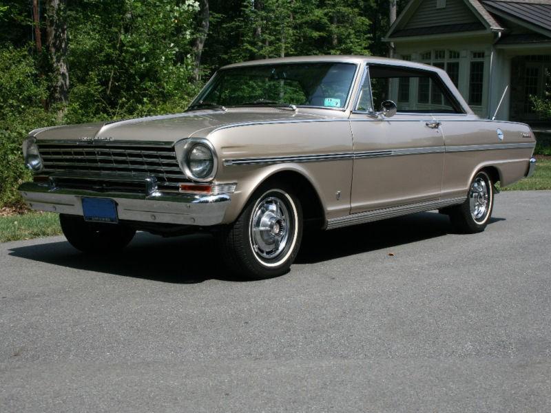 Chevrolet Nova купе, 1963, 1 поколение [рестайлинг] - отзывы, фото и характеристики на Car.ru
