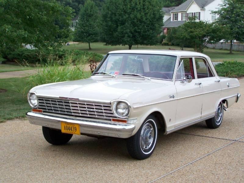 Chevrolet Nova седан, 1964, 1 поколение [2-й рестайлинг] - отзывы, фото и характеристики на Car.ru