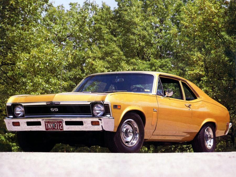 Chevrolet Nova купе, 1969, 3 поколение [рестайлинг] - отзывы, фото и характеристики на Car.ru