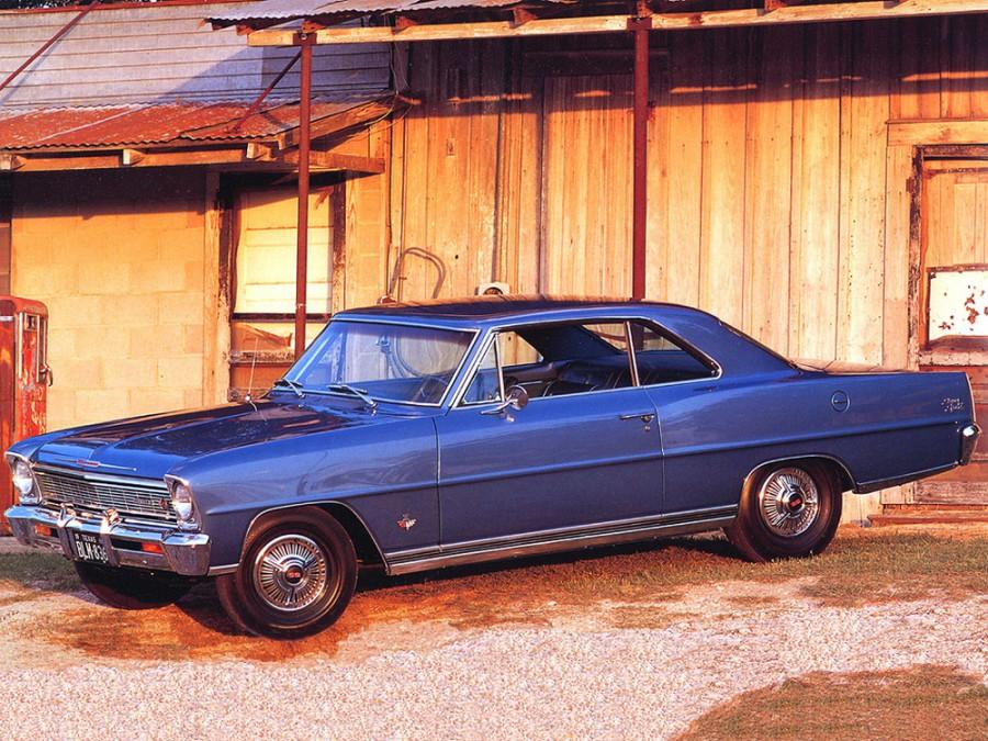 Chevrolet Nova купе, 1966, 2 поколение - отзывы, фото и характеристики на Car.ru