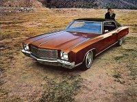 Chevrolet Monte Carlo, 1971, 1 поколение [рестайлинг], Купе