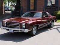 Chevrolet Monte Carlo, 2 поколение [3-й рестайлинг], Купе, 1976