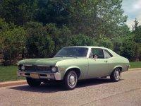 Chevrolet Nova, 3 поколение [2-й рестайлинг], Купе, 1970–1972