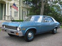 Chevrolet Nova, 3 поколение [2-й рестайлинг], Седан, 1970–1972