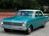 Chevrolet Nova, 1 поколение [3-й рестайлинг], Седан, 1965