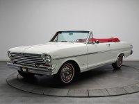 Chevrolet Nova, 1963, 1 поколение [рестайлинг], Кабриолет