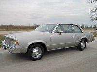 Chevrolet Malibu, 1979, 1 поколение [рестайлинг], Купе 2-дв.