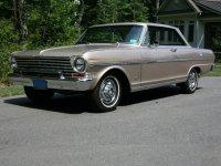 Chevrolet Nova, 1963, 1 поколение [рестайлинг], Купе