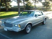 Chevrolet Monte Carlo, 1978, 3 поколение, Купе