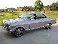 Chevrolet Nova, 1 поколение [3-й рестайлинг], Купе, 1965