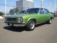 Chevrolet Nova, 4 поколение [рестайлинг], Concours седан 4-дв., 1976–1978